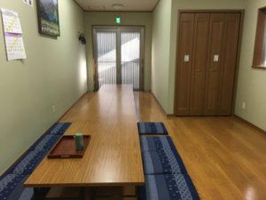 開栄寺新館 控室