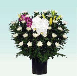 菊供花1 : W700 x H750 x D300(mm)