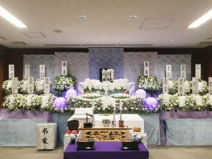 所沢市斎場 祭壇例
